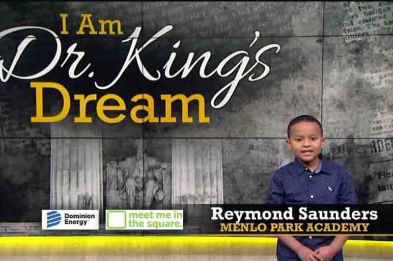 reymond saunders speaking on tv